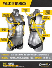 Guardian Velocity Harness Brochure