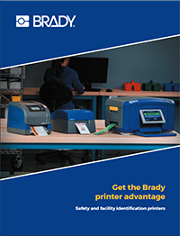 Brady Printer Family Intro Brochure