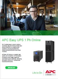 APC Easy UPS