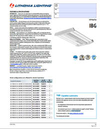 IBG LED High Bay