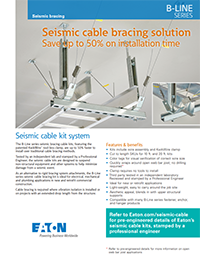 Seismic Cable Kit System