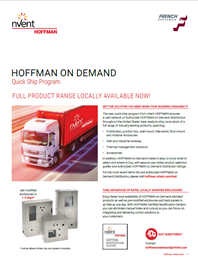 Hoffman on Demand Flier