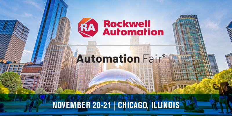 Automation Fair 2019 presented by Rockwell