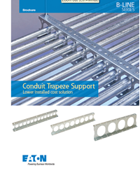 Conduit Trapeze Support