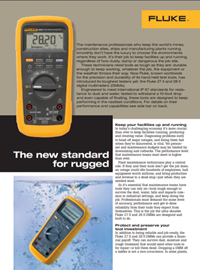 Fluke New Rugged Standard