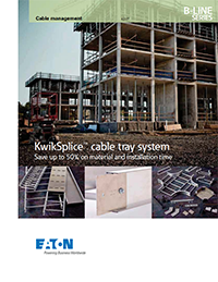 Kwik Splice Cable Tray System