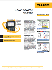 Fluke Low Power Factor